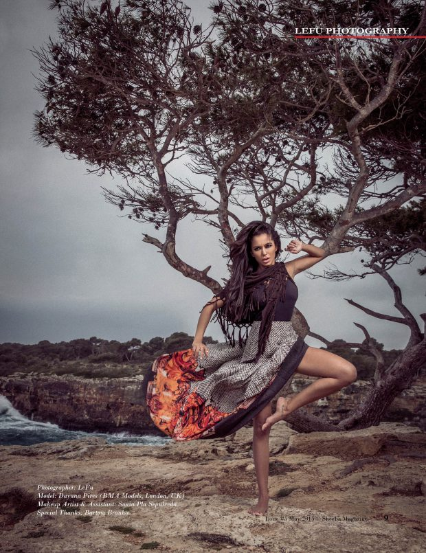 Model: Dayana Pires (BMA Models) Makeup: Sonia Pla Sepulveda. Special Thanks: Bartosz Branka