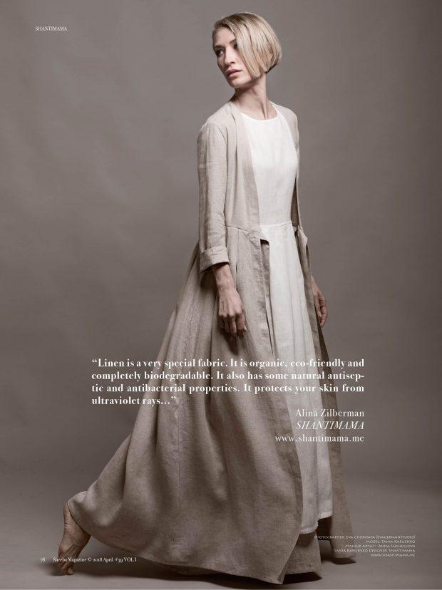 linen wear design ecowalk shantimama