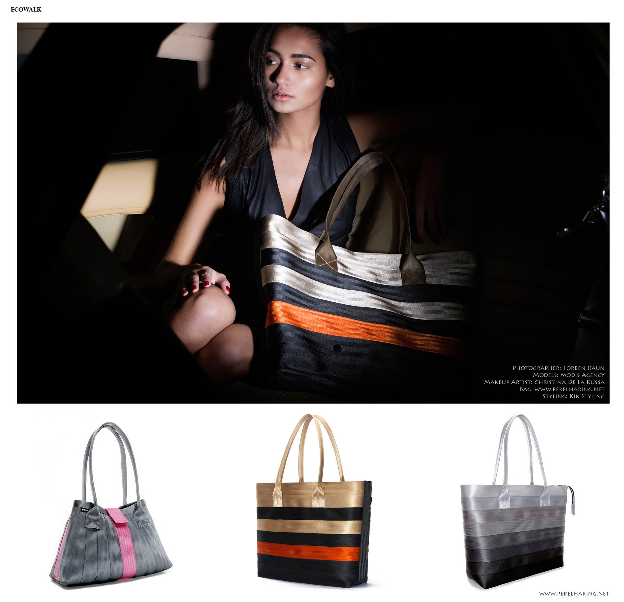 sustainable fashion accssories Pekelharing bags