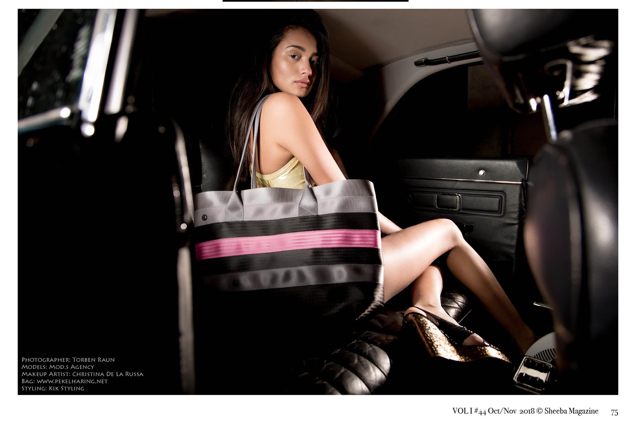 sustainable fashion handbags Pekelharing