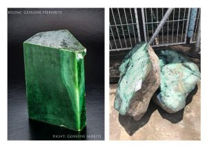 genuine jadeite and genuine nephrite