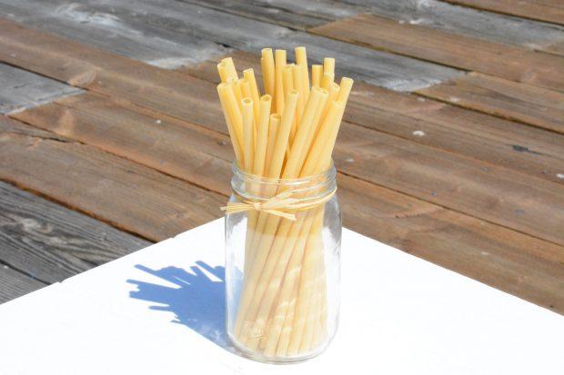 natural drinking straws pasta straws