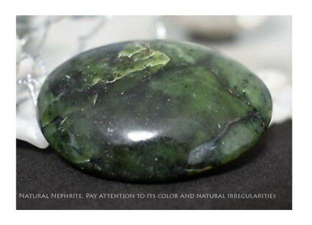 Natural Nephrite should have natural irregularities