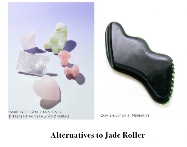 gua sha stone is alternative to jade roller
