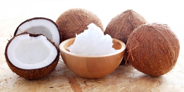 use coconut oil for massage
