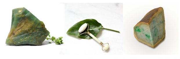 The Truth About Jade Rollers: natural Jades and white Jade Roller