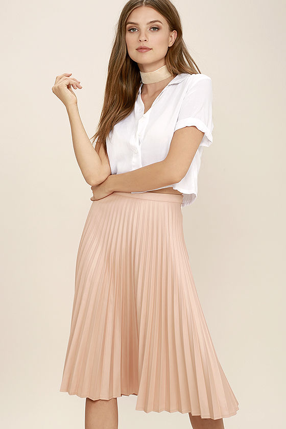 Office Outfits You Must spring skirt