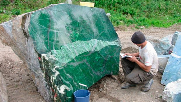 The Truth About Jade Rollers: The 18-ton boulder of Nephrite