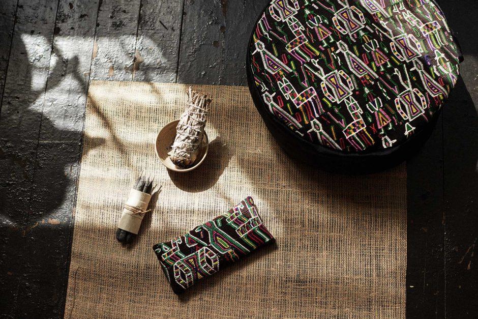 Akasha yoga pieces sustainable textiles of Guatemala