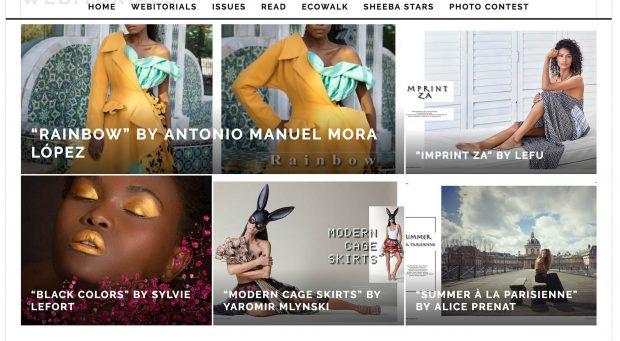 submit editorial to Sheeba fashion magazine