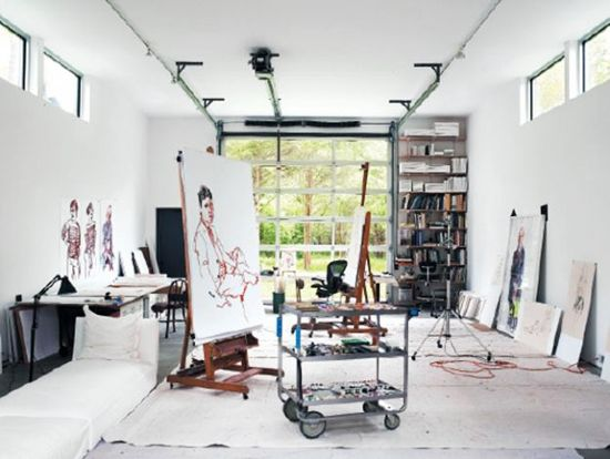 transfomr garage into in home studio