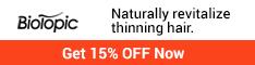 BioTopic thinning hair revilatize naturally