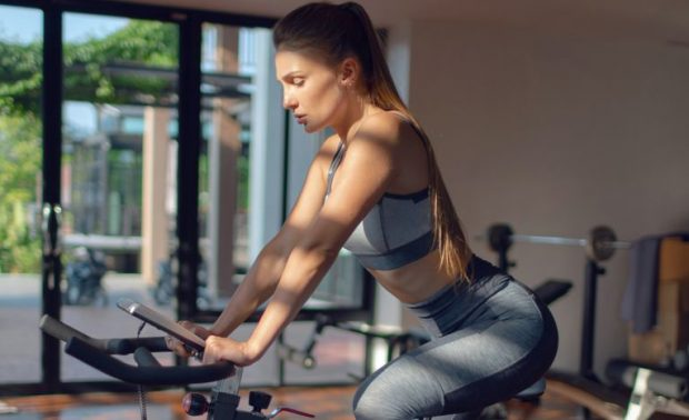 Lose Your Weight by doing Exercise in Exercise bike
