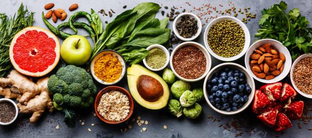 balanced diet for dry skin