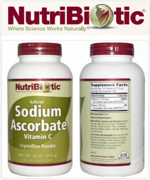 get rid of wrinkles on your face use vitmin c sodium ascobate nutribiotic