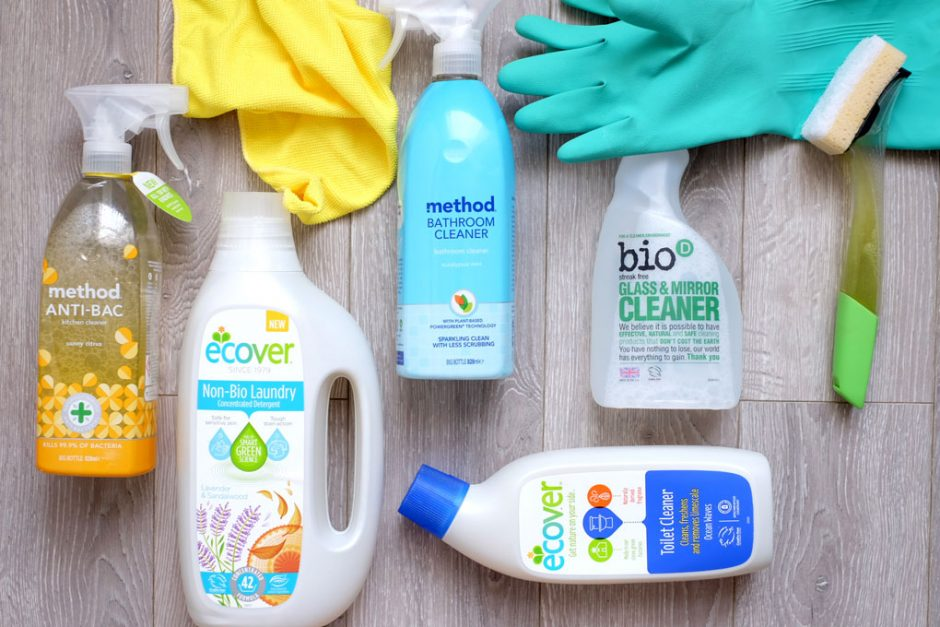 cleaning without toxins healthy environment