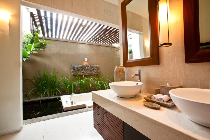 healthy bahtroom environment