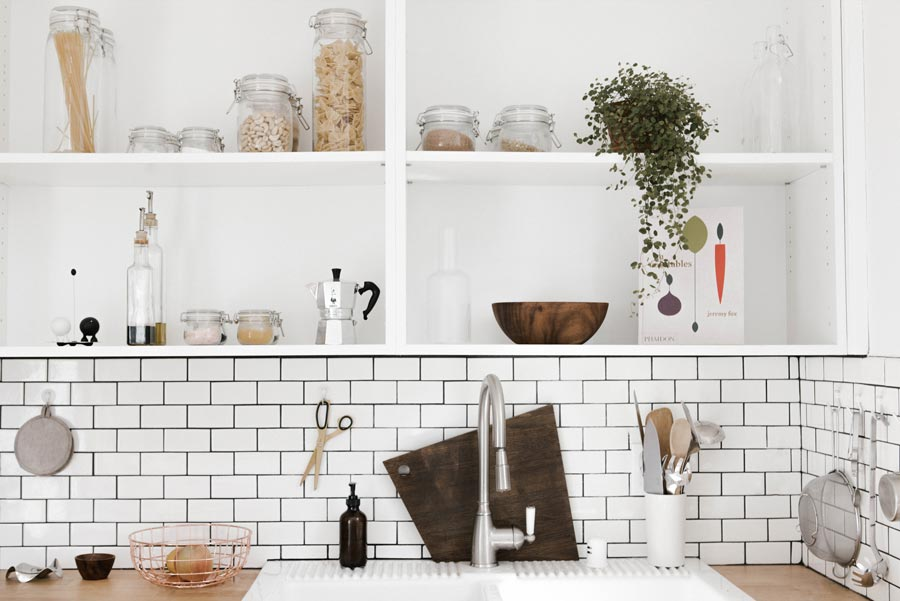 no chemicals in kitchen toxin free environment