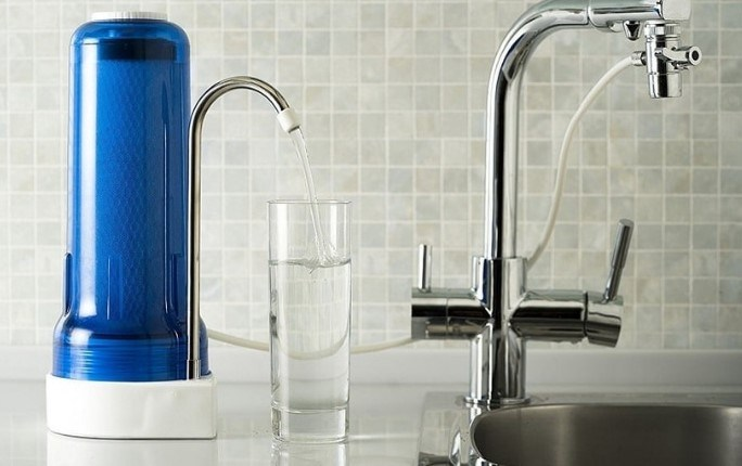 filtering tap water at home for health