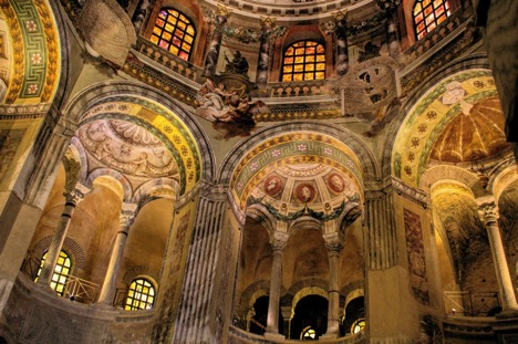 Holy Basilica of San Vitale in Italy 7 extraordinary sacred sites in the world