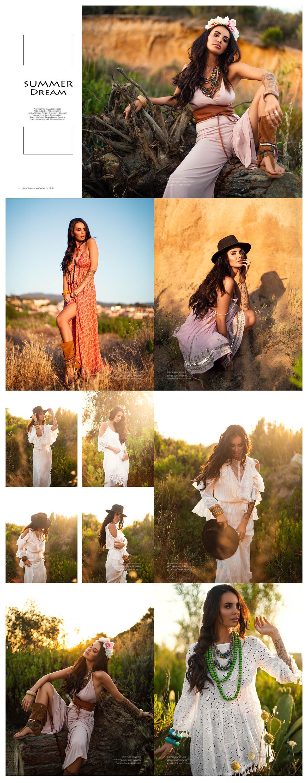 Summer Dream by Audrey Bieber fashion editorial