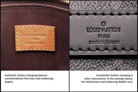 how to spot Fake Louis Vuitton