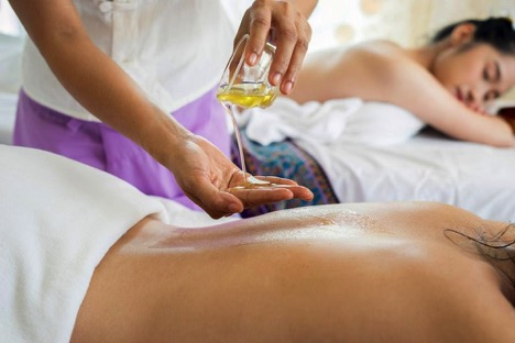 marijuana infused oil for massage