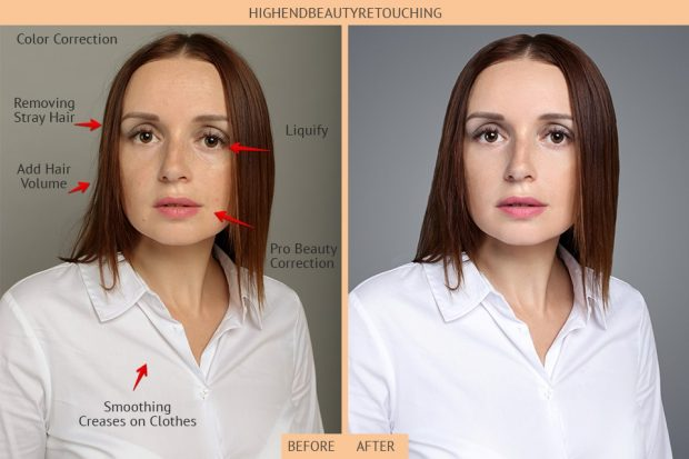 High End Beauty Retouching