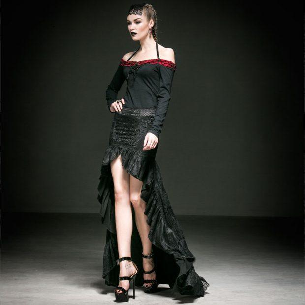 Style with Elegance long skirt sheeba magazine