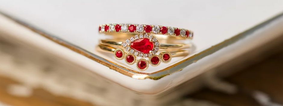 Unique Engagement Rings ruby ring