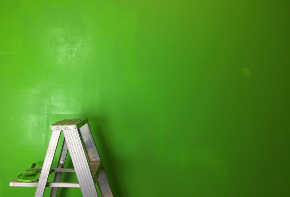 use eco-friendly paint sustainable renovation