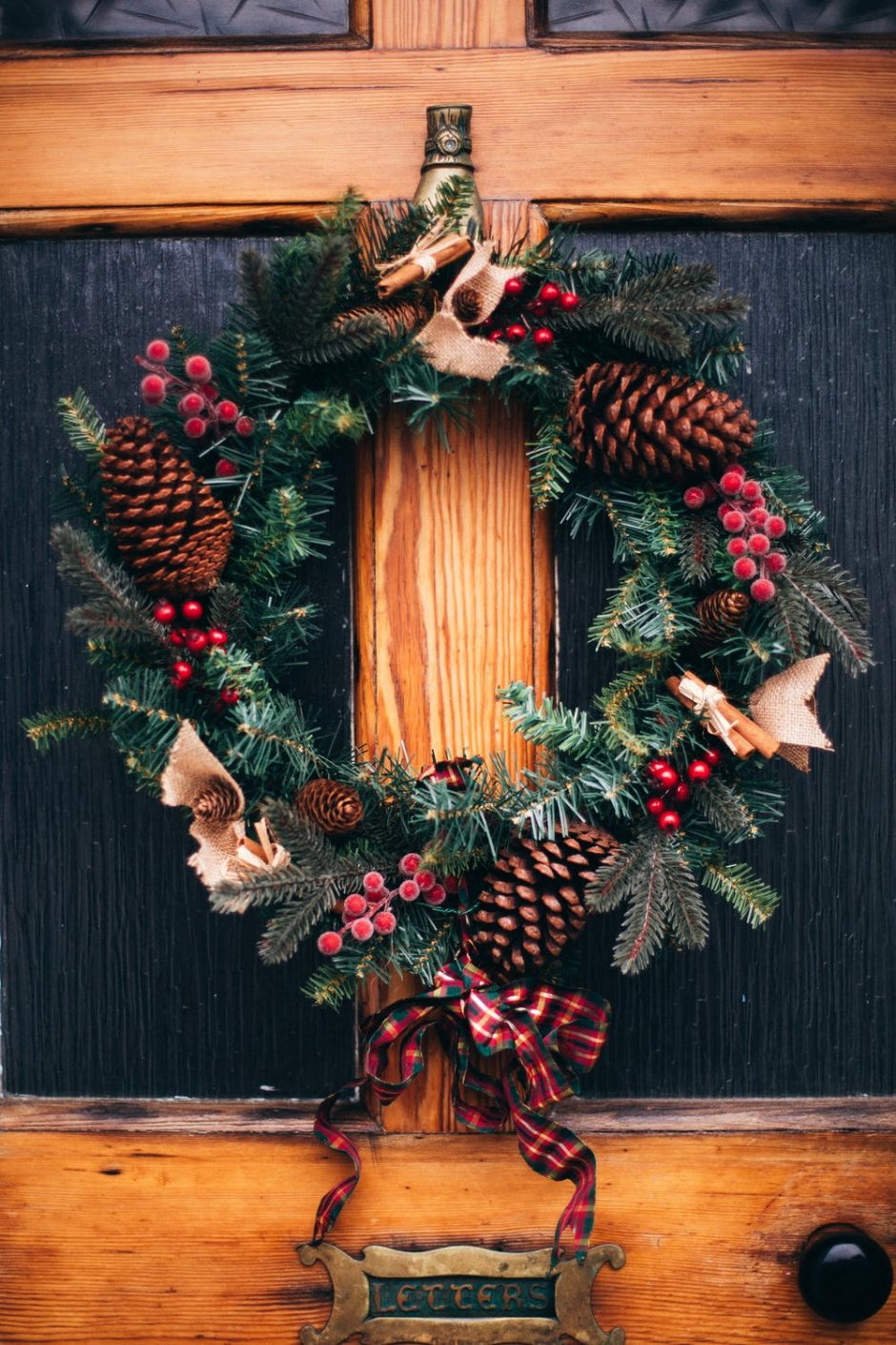Christmas eco friendly decorations