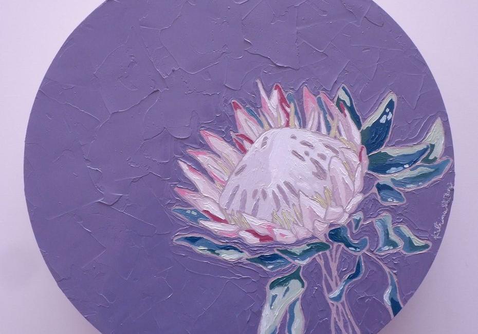 Katrina Bern floral painting
