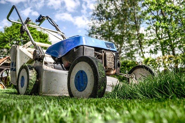 lawnmower landscaping
