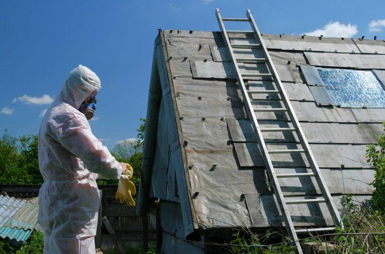 asbestos roof danger