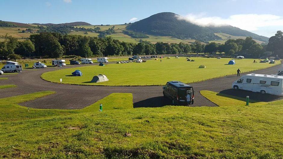 Loch Ness camping in Scotland