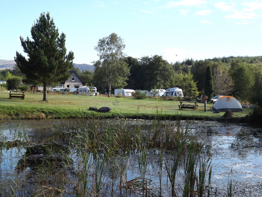 motorhome parks in Scotland