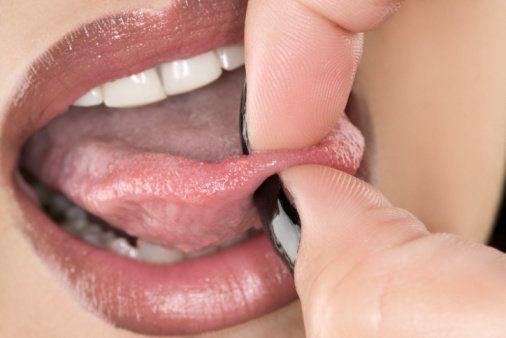 tongue piercing fashion