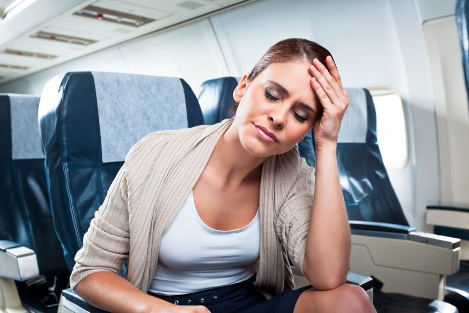traveling with back pain