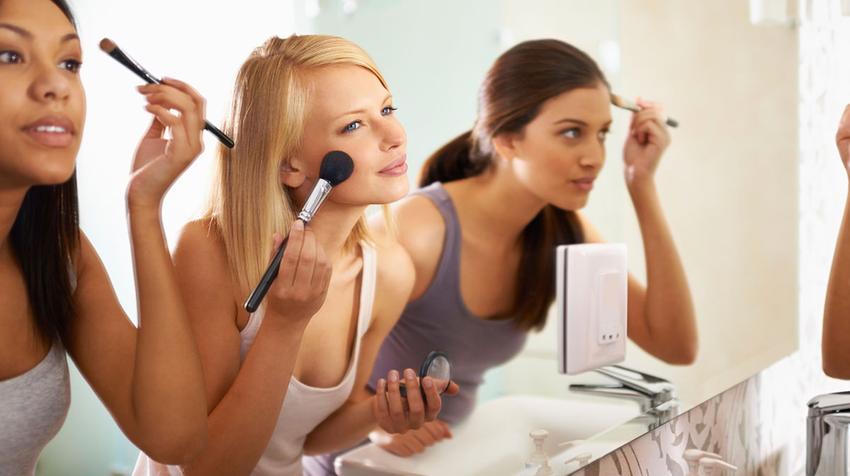 makeup can influence your school performance