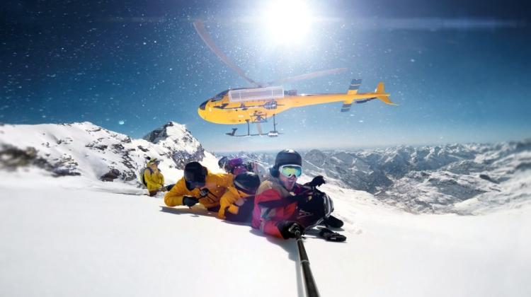 Heli-skiing in Iceland winter seson adventure