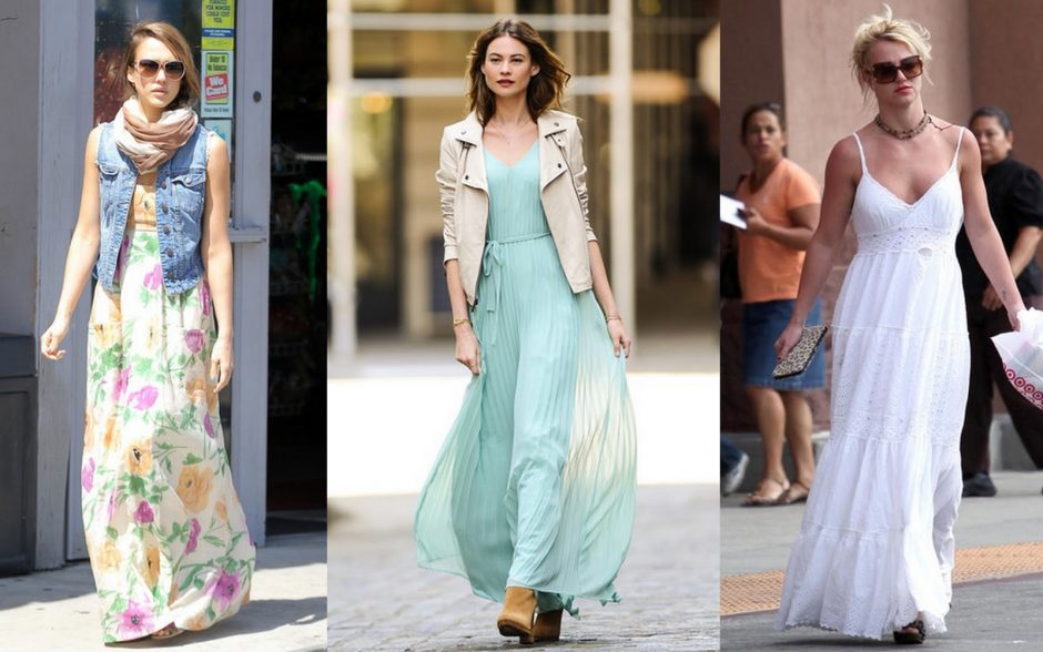 How to Style Maxi Dresses
