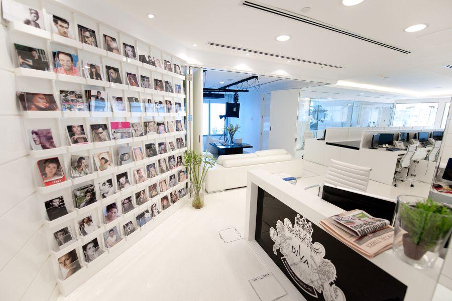 modeling agency office