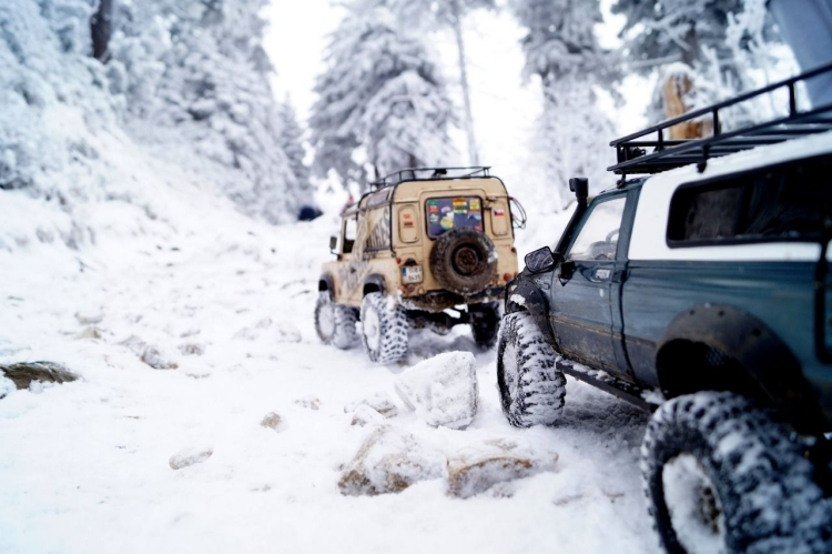 Off-road Adventure in Alaska winter season