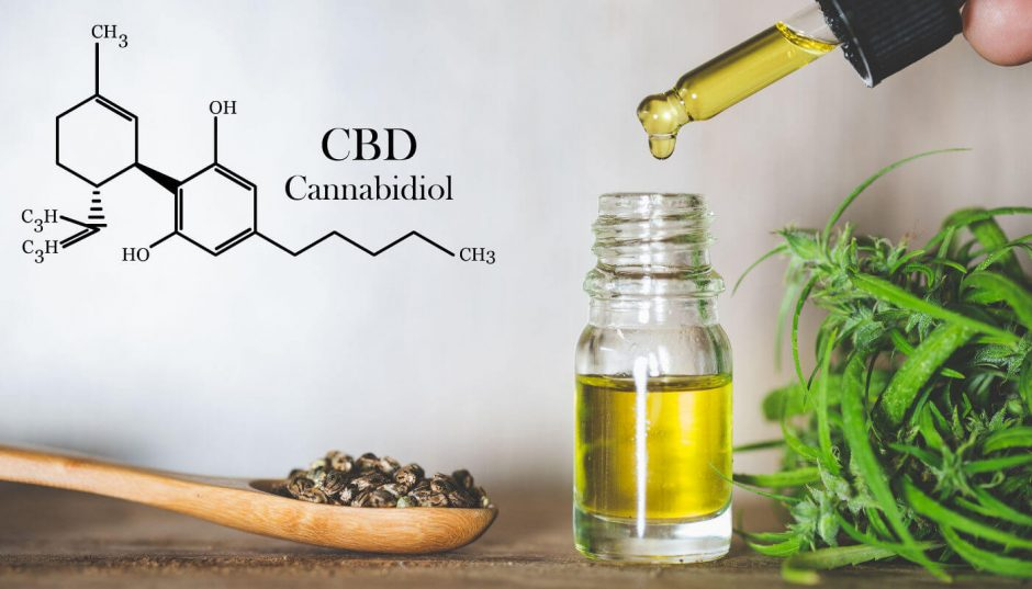 take CBD oil with food