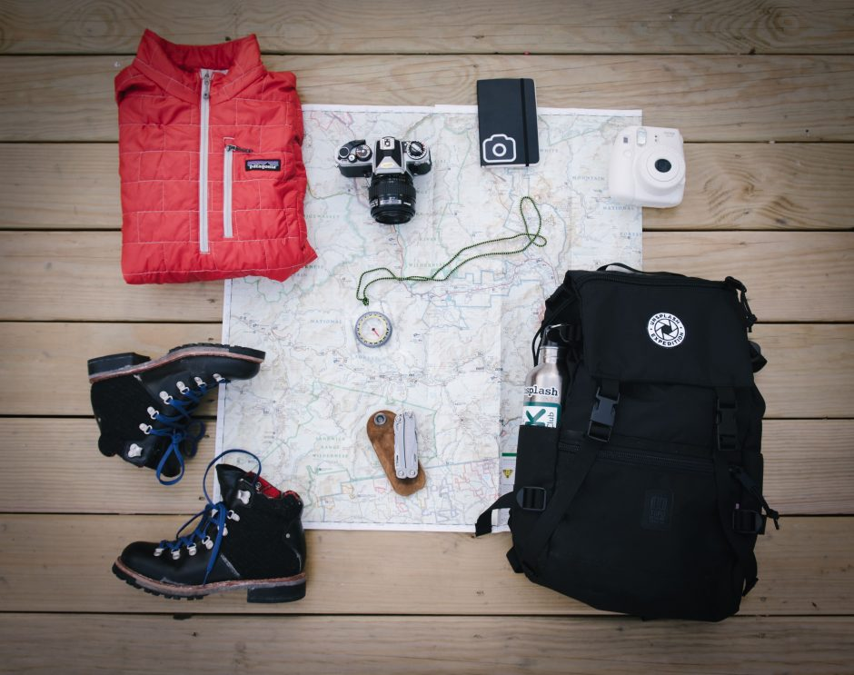 camino hicking gear