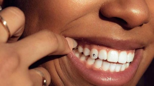 tooth piercing