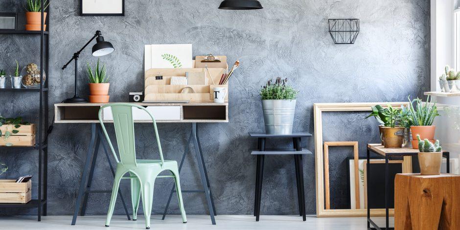 Environmentally Friendly Home Office