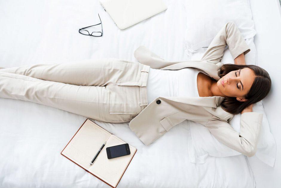 Sleep While Business Traveling