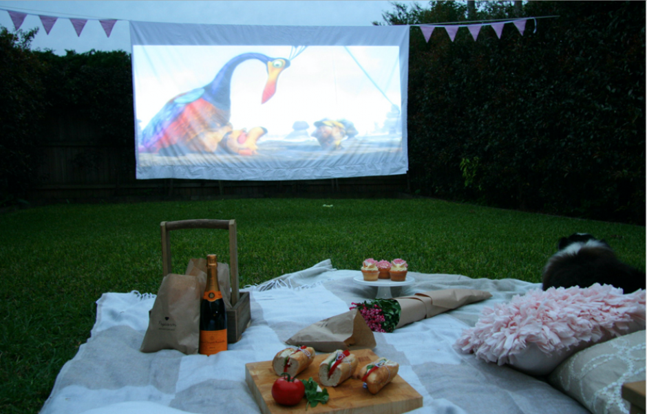 The Best Movie Night Ever With Your Friends